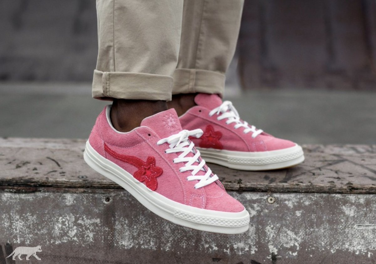 Sole Links On Twitter Live Early Via Shoe Palace Golf Le Fleur The Creator X Converse One Star Pink Https T Co Ve6bky1ua9 Green Https T Co Escehmuvp6 Https T Co F2prwhj6dd
