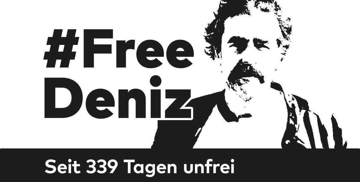 Unser Kollege Deniz Yücel sitzt seit 339 Tagen ohne Anklage in türkischer Haft. Schreibt ihm einen Brief! https://t.co/Ds9vXCZdSy #FreeDeniz