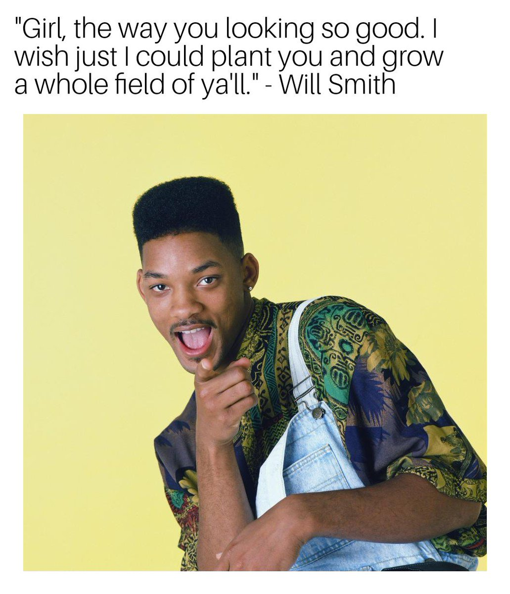 Lmao best way to pic up a chick #freshprinceofbelair #WillSmith https://t.co/3MS8Ka7CMt