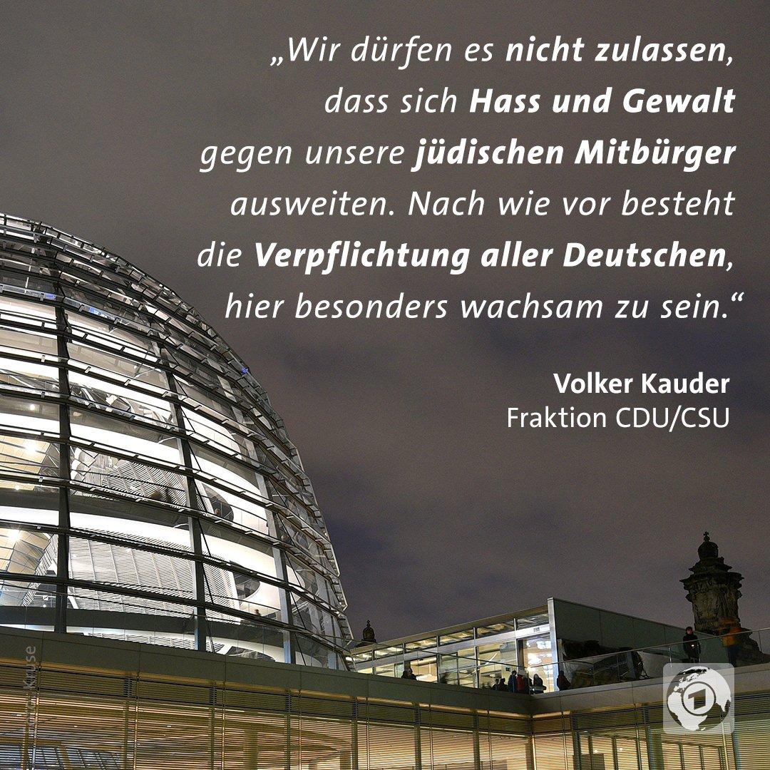 Der Bundestag berät heute über eine stärkere Bekämpfung von Antisemitismus in Deutschland.