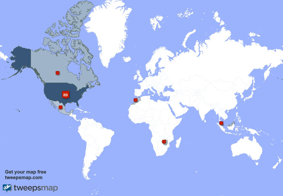 I have 1 new followers from USA last wee...