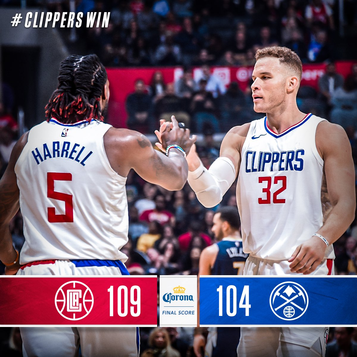 RT @LAClippers: #6straight https://t.co/mH8dQ1Kbad