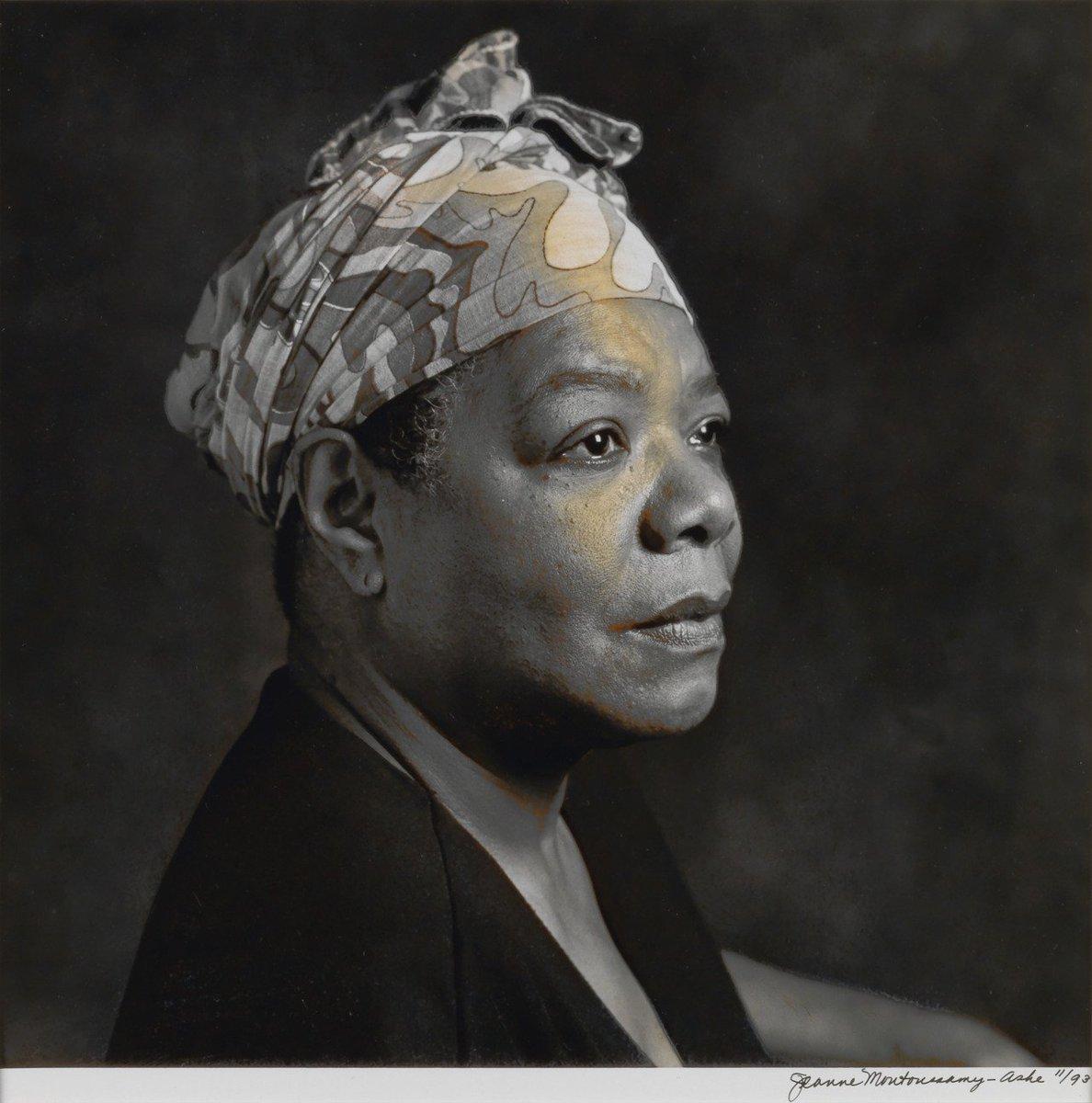 RT @womensart1: African American photographer Jeanne Moutoussamy-Ashe, Portrait of Maya Angelou (1993) #womensart https://t.co/ys6LgPS88L