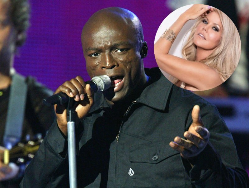 Kiss from a perv? @Seal reportedly under...