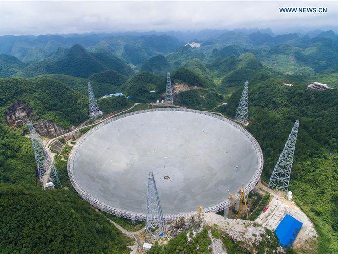 New biggest radio telescope to help detect alien signals https://t.co/sP1hxx5Epj