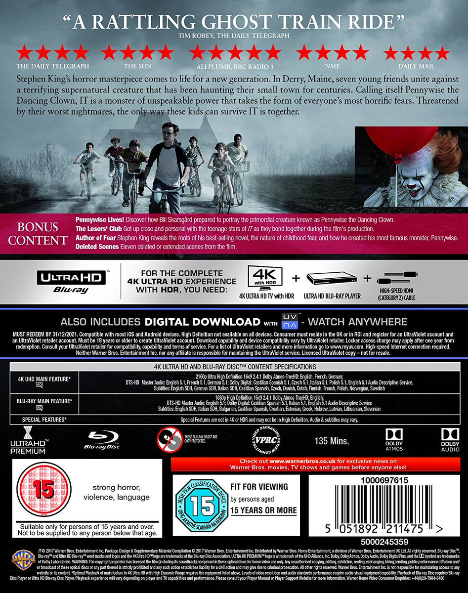 Ultra HD Blu-ray on Twitter: