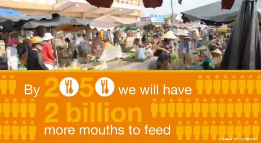 #DYK by 2050 we will have 2 billion more mouths to feed?