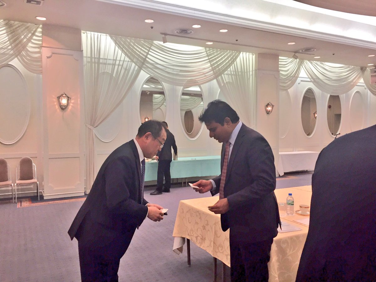 Hon&#39;ble Min @KTRTRS of #Telangana govt. met with representatives of #Shizuoka bank and had fruitful discussions on #banking and #Financial sector on  visit @MinIT_Telangana  @IndianDiplomacy @IndianEmbTokyo @IndianConsOsaka<br>http://pic.twitter.com/3GIolYKkdk
