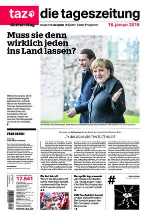 Migration covered Europe's front pages with Germany asking, 'Does Merkel 'have to let everyone in?'' https://t.co/omTD8k7iYh