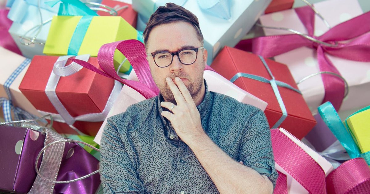 .@DannyWallace on the joy of a surprise free gift https://t.co/u3jtAo7mpG