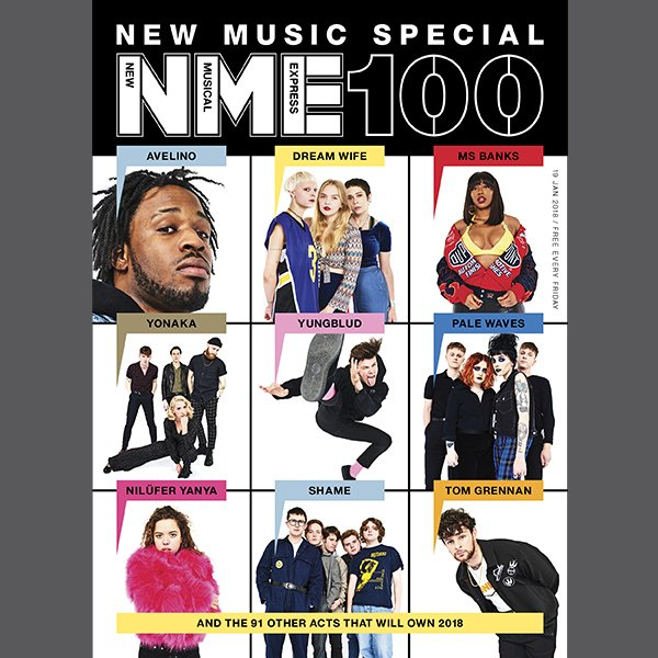 In this week's NME Magazine, The #NME100 - meet the rising artists that will absolutely dominate 2018. Get your free copy > https://t.co/thnMQywTFj