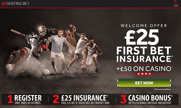 £25 Risk Free Bet!  Sign-up at https://t.co/46bjfs9qdZ and place a bet of up to £25 on any sporting event. Money back if it loses!