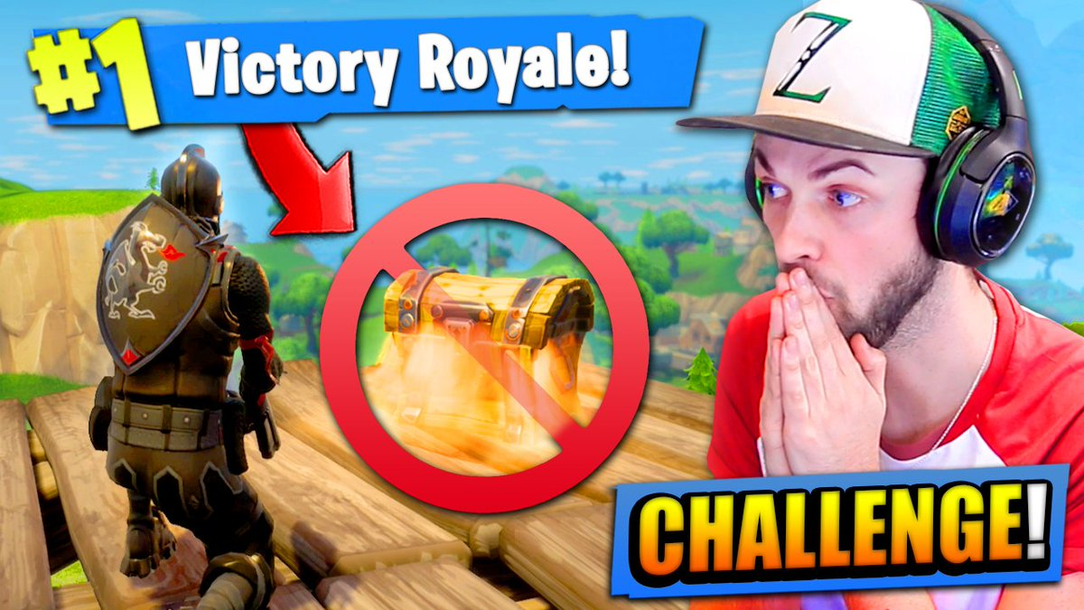 "Ali A Fortnite ali-a on twitter: ""the no chest challenge in fortnite"