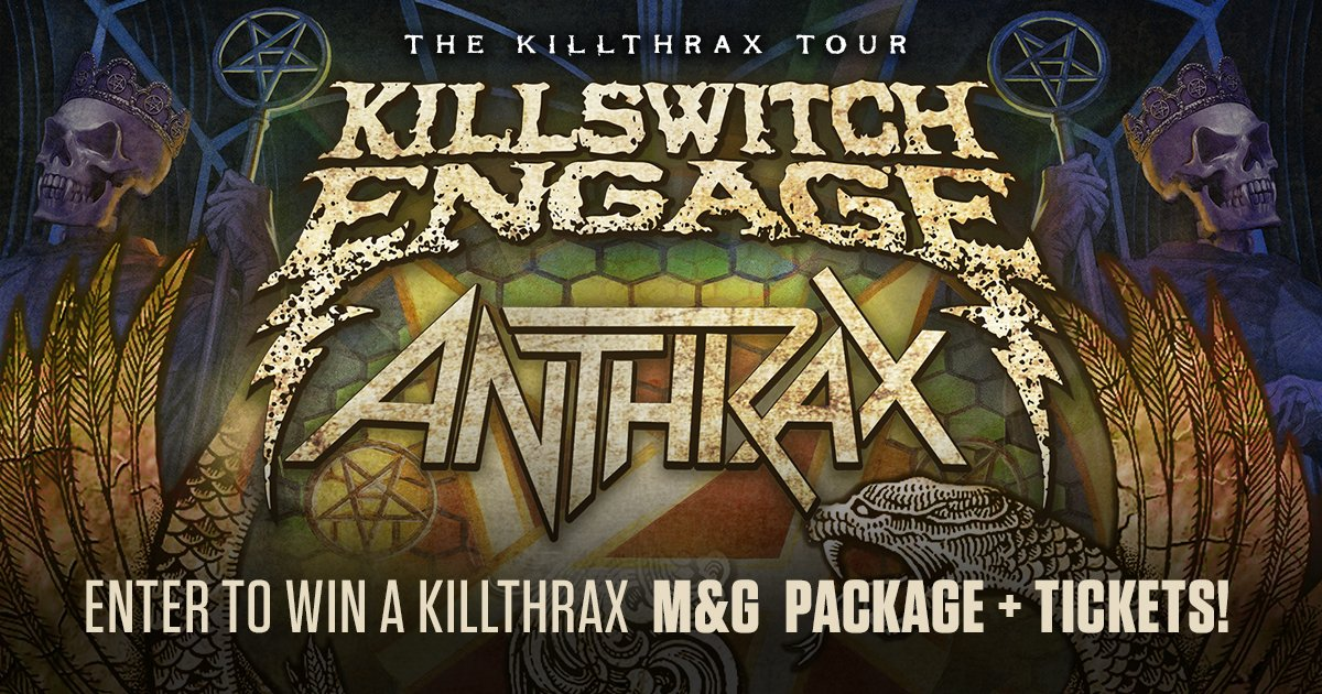 Killswitch engage kseofficial twitter anthrax band killswitch engage and universal music group m4hsunfo