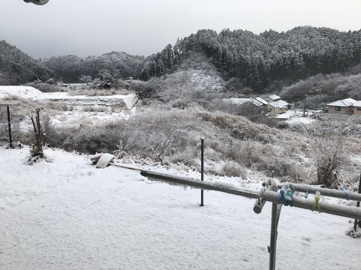 おはようございます!昨夜から降り続いている雪☃️も9時ごろには曇りに変わるそうです☁️通勤通学に気をつけてくださいね!