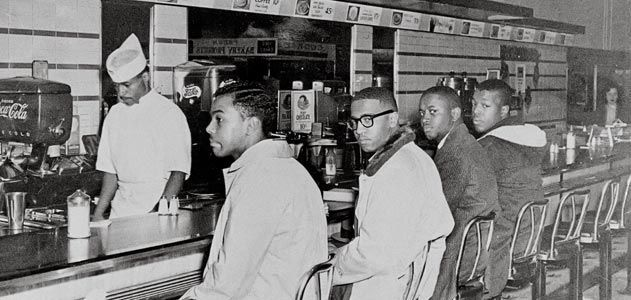 woolworths lunch counter
