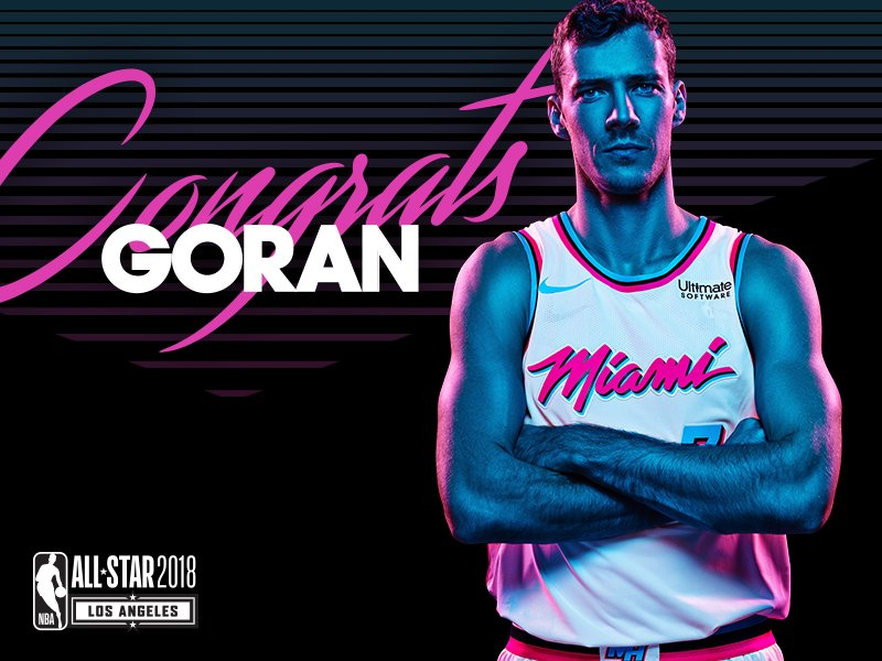 c3cf5a114d7 Dragic is the 8th player in Miami HEAT history to earn NBA All-Star honors.  More info - http   gohe.at DragicAllStar pic.twitter.com SVmGcRJw0E