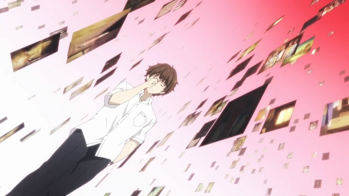 All The Anime I Want To Watch Hasnt Come Out Yet So Decided Rewatch One Of If Not My Favorite Hyouka Hyoka Again