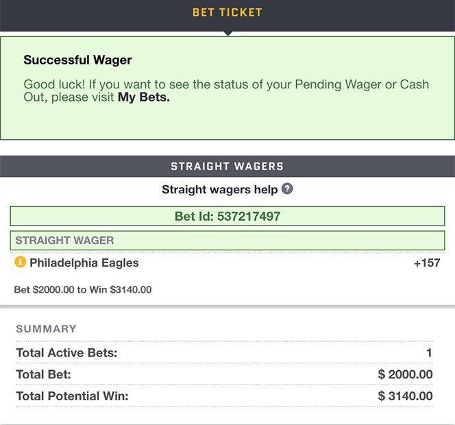 Large bet on philadelphia how does each way betting work ladbrokes