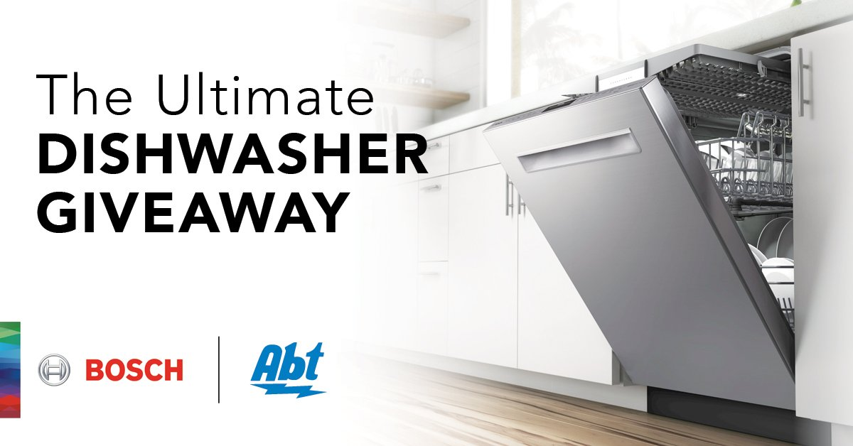 Abt Electronics On Twitter This Months Giveaway Could Land You A - Abt dishwasher