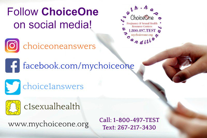 Choice one pregnancy+sexual health resource centers