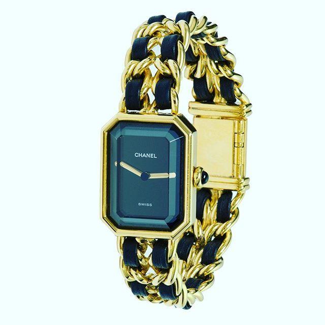 Chanel Paris Premier Ladies Watch #chanel #watch #chanelpremiere #ladieswatch #dsfantiquejewelry #faceted #lovechanel #instawatch #instapost