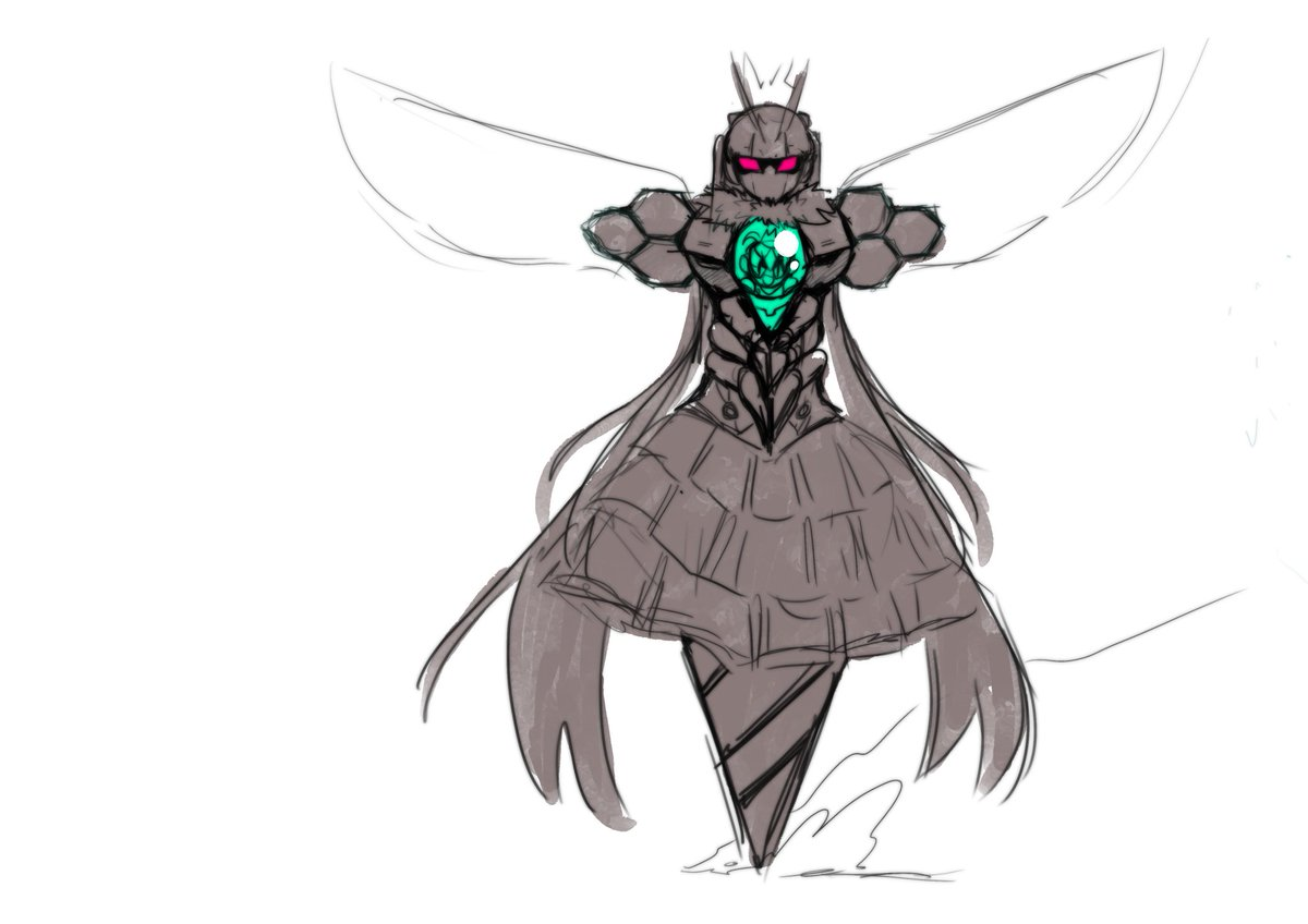 Queen Bee Concept Art