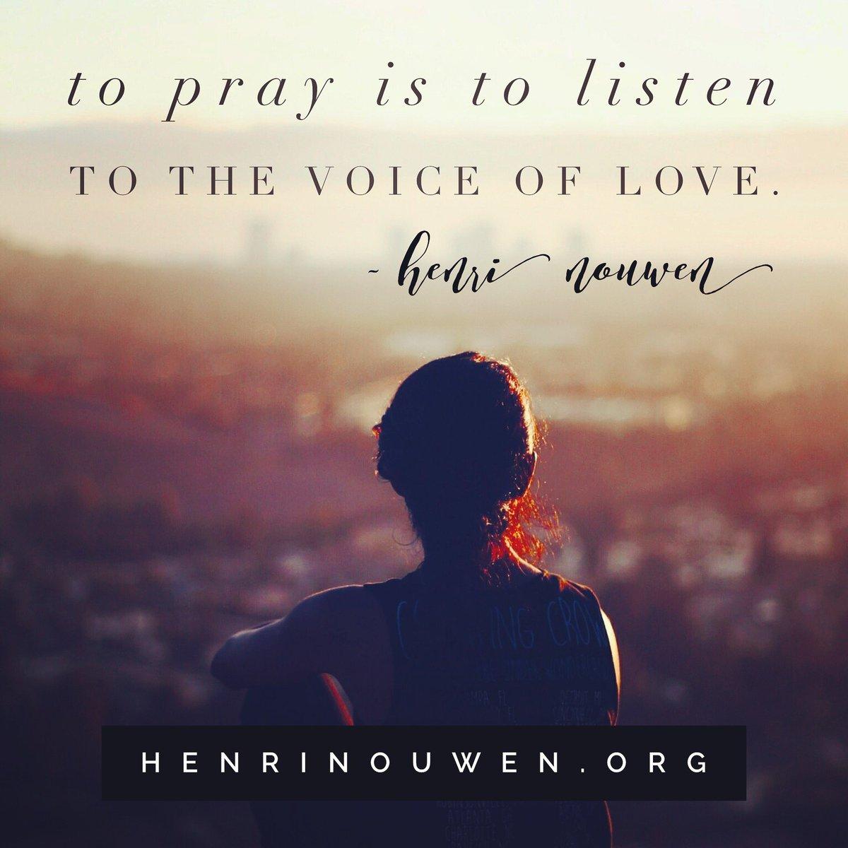 Catholic Quotes On Love Henri Nouwen Society Nouwensociety  Twitter