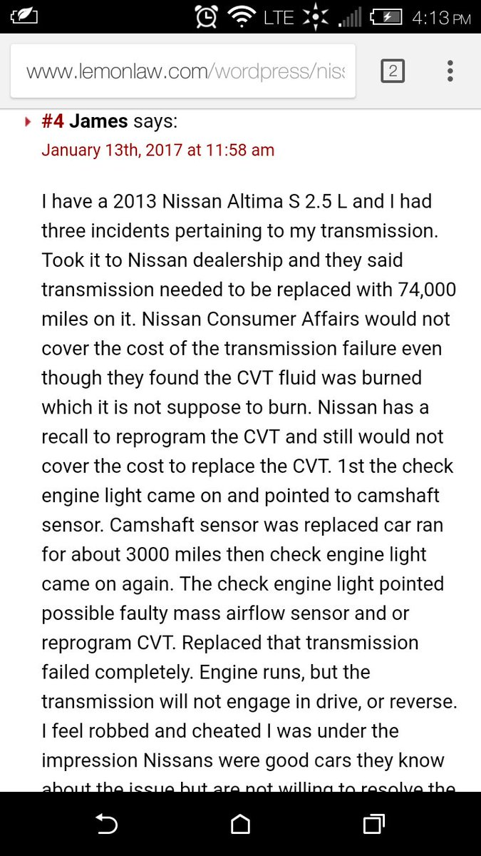 Nissanusa twitter search multiple ase certificates have been a mechanic over 8 years i can tell you dontbuynissan there are thousands of verified transmission problems xflitez Images