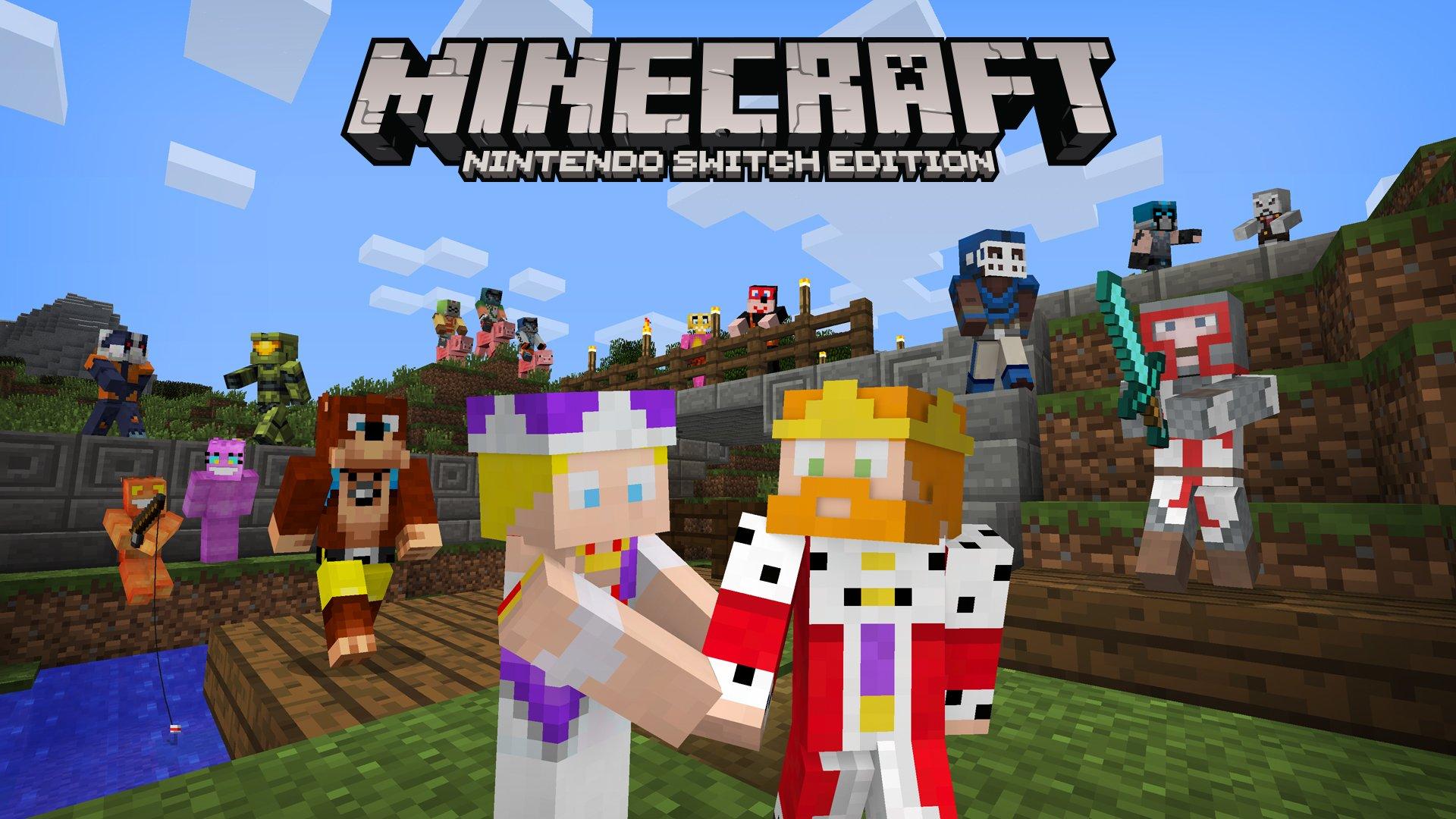 Minecraft Wii U And Switch Getting A Skin Pack Which Includes - Skins fur minecraft wii u