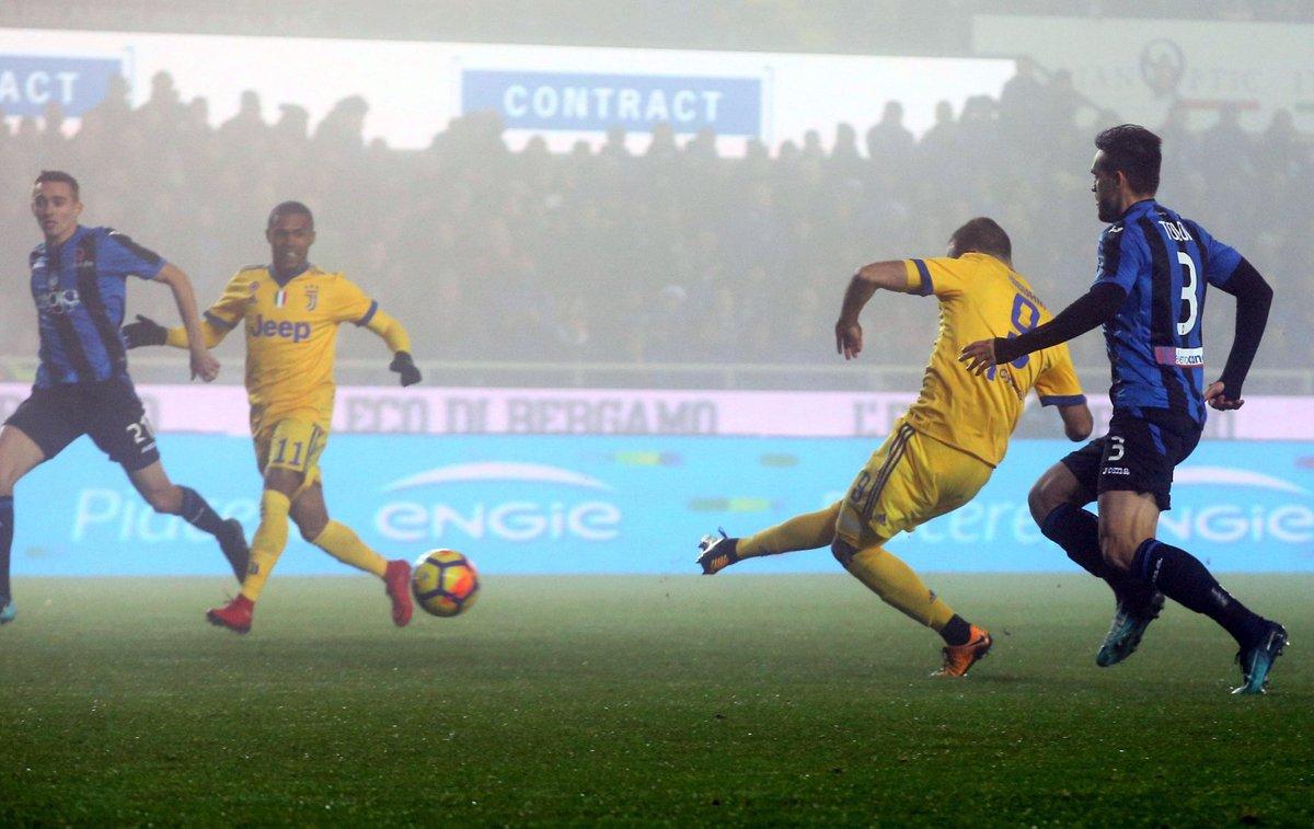 Copa de Italia | Juventus sacó ventaja ante Atalanta con gol de Higuaín