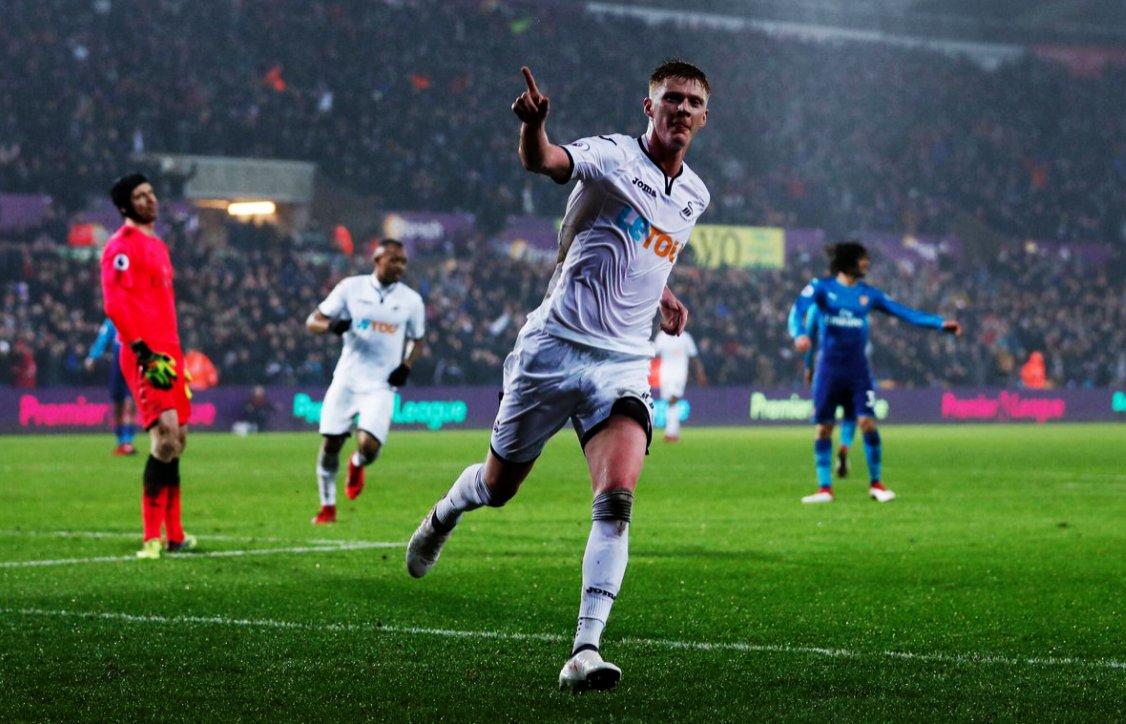Premier League | Swansea sorprendió a Arsenal en la Premier