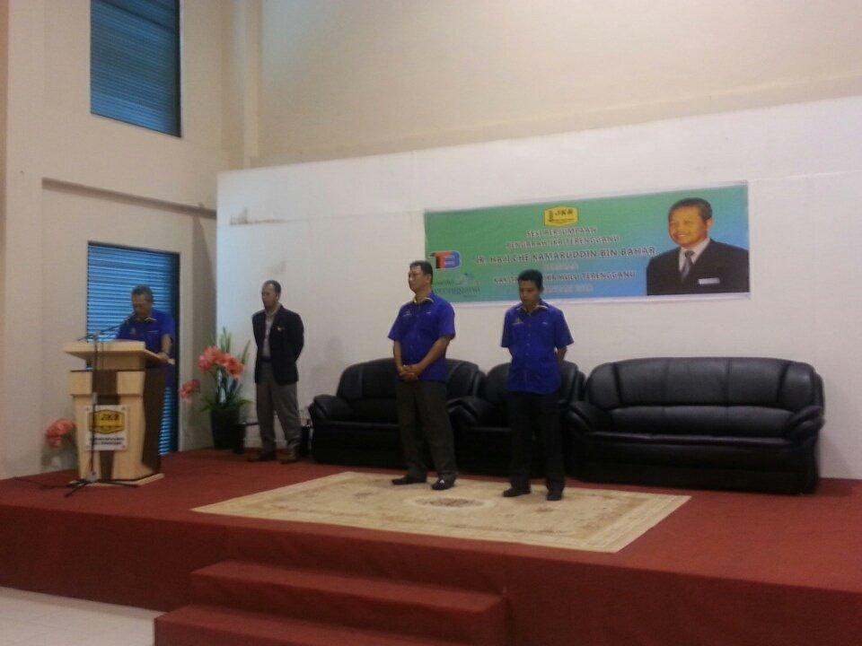 Sesi Perjumpaan Pengarah JKR Terengganu @irckb_chedin  Bersama Kakitangan @JKRHuluTrg @JKRMalaysia @RoslanMdTaha @yusufghani200 @cpabkorporat @jasmi99203168