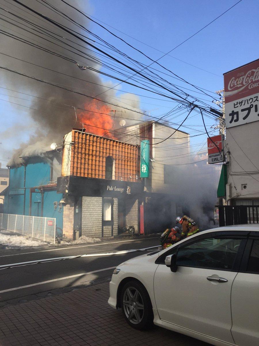 福生駅付近で大きな火事「福生の火事、結構燃えてる」東京都 ...