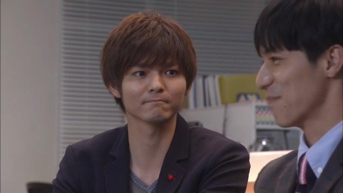 この表情の薮宏太がかわいい