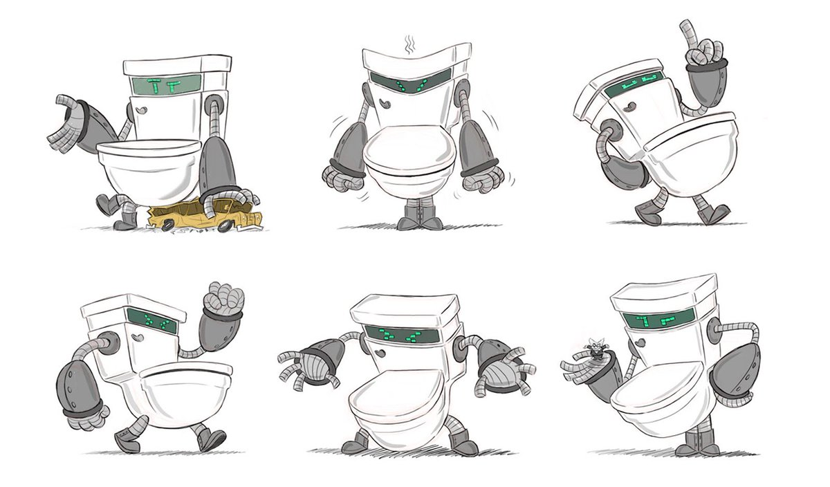 Concept Art World On Twitter Check Out These Color Scripts And Characters Designs For Captain Underpants The First Epic Movie By Illustrator And Cgmasteracademy Instructor Nate Wragg View More Work Https T Co 8eetu7f5ip