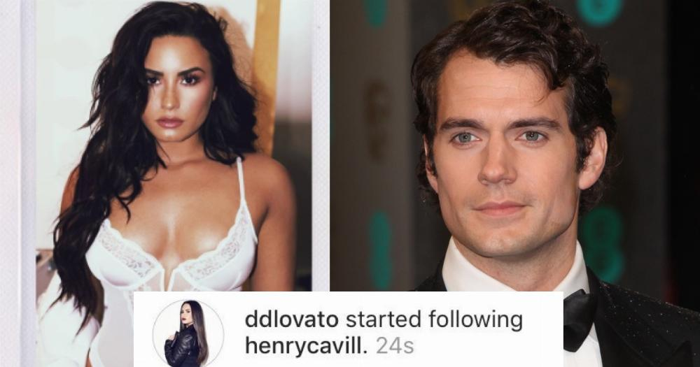Demi Lovato Follows Henry Cavill on Instagram
