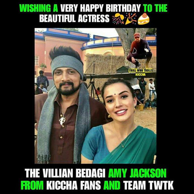 Happy birthday The Villian Bedagi