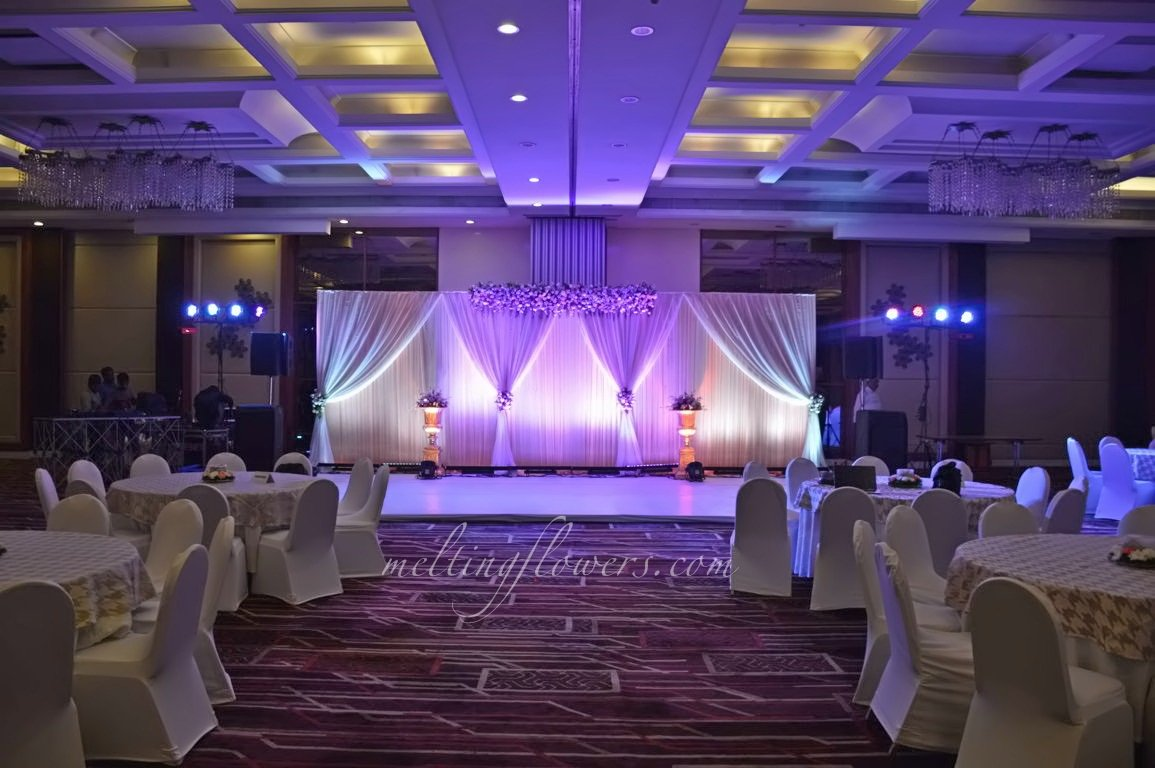 Melting Flowers On Twitter A Wedding Hall Decorated In Le Mridien