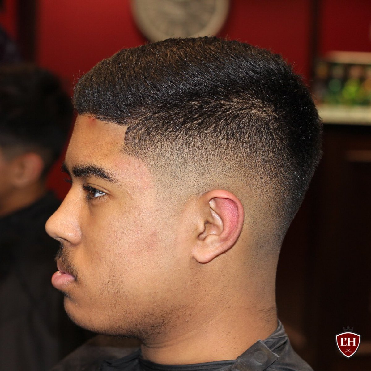 Lhomme Grooming Barbers On Twitter Midweek Fade Haircut