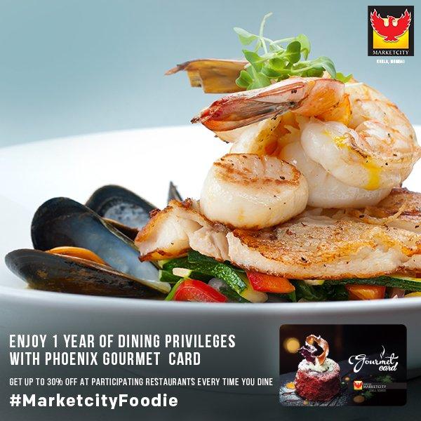 Phoenix Marketcity On Twitter With Phoenix Gourmet Card