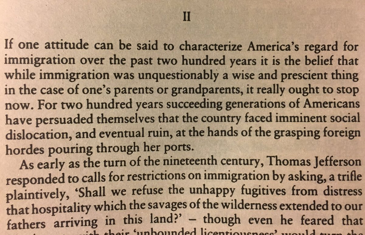 "Andy Tillett on Twitter: ""Bill Bryson, Made in America, 1994: #DACA  #dreamers #immigration… """