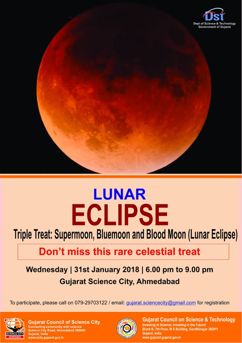 Triple treat: Supermoon, blue moon and blood moon(Lunar eclipse) today evening