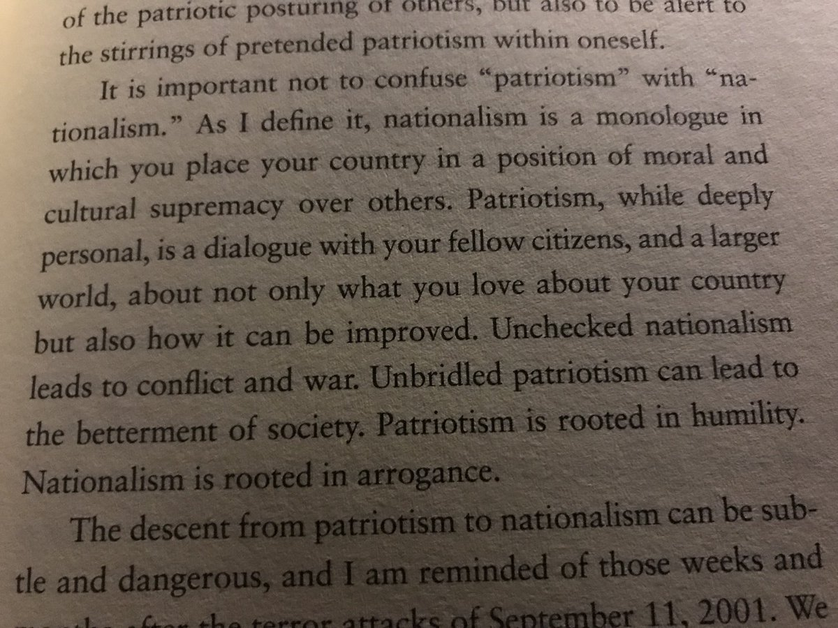 nationalism should not be confused with patriotism