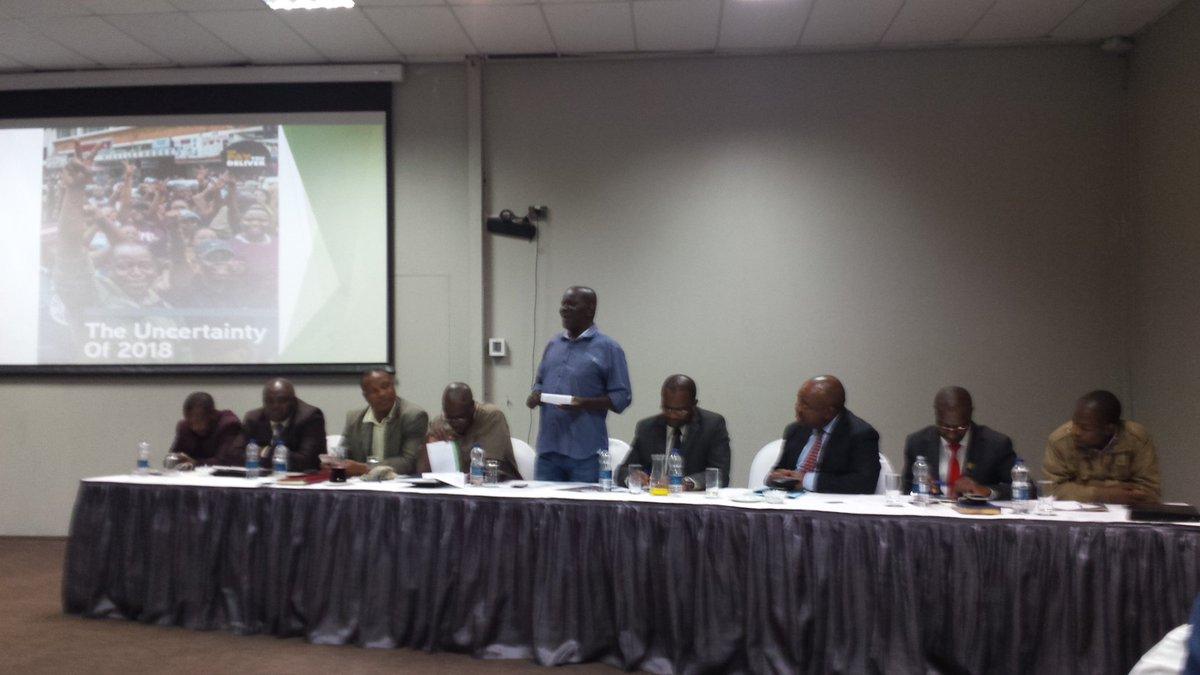 Panel discussing the Local Gvt Elections Survey Report @DMwonzora @263Chat @BenManyenyeni @CHRA_Zim @wildtrustzim @WePayYouDeliver