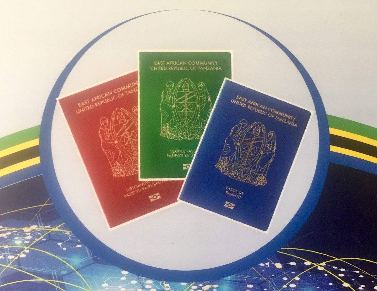 Image result for tanzania new passport