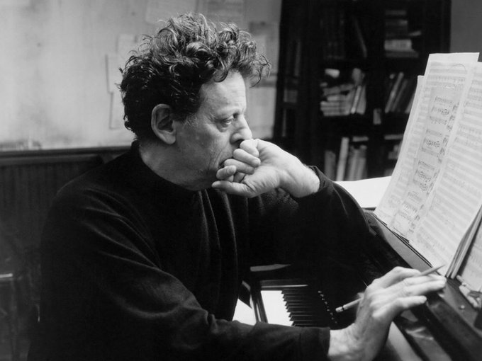 Composer Philip Glass turns 81 today. Happy Birthday, maestro.