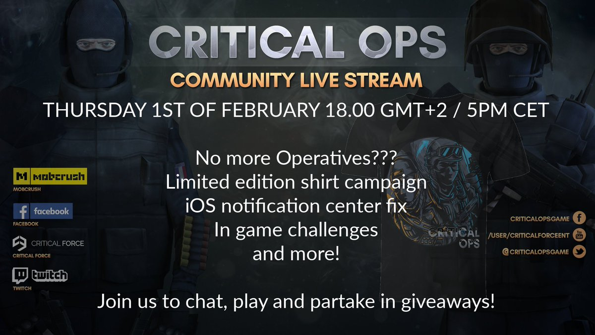 Critical Ops on Twitter: