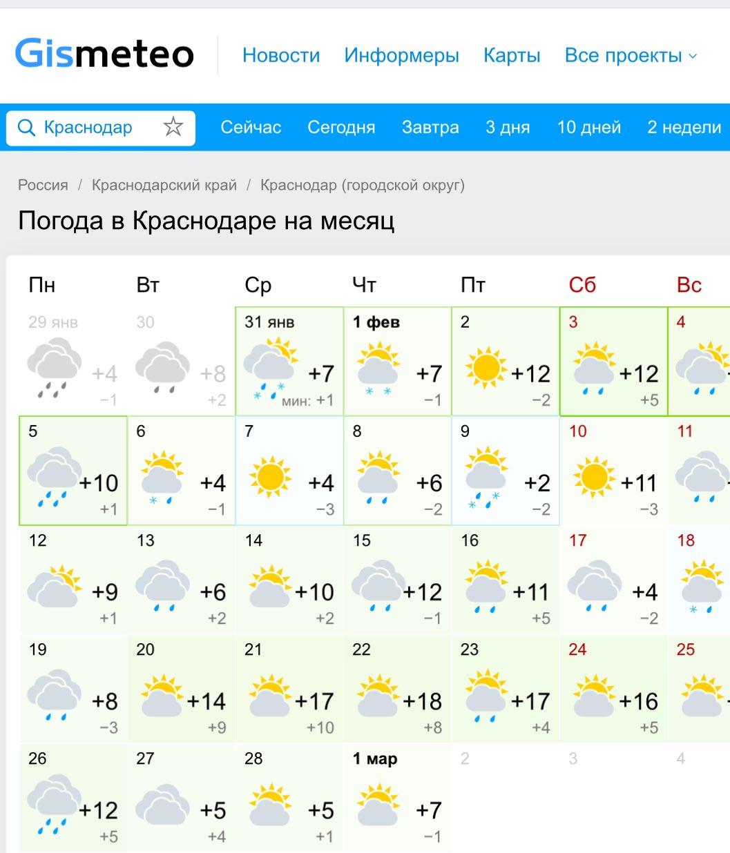съемок краснодар погода в картинках воля человека
