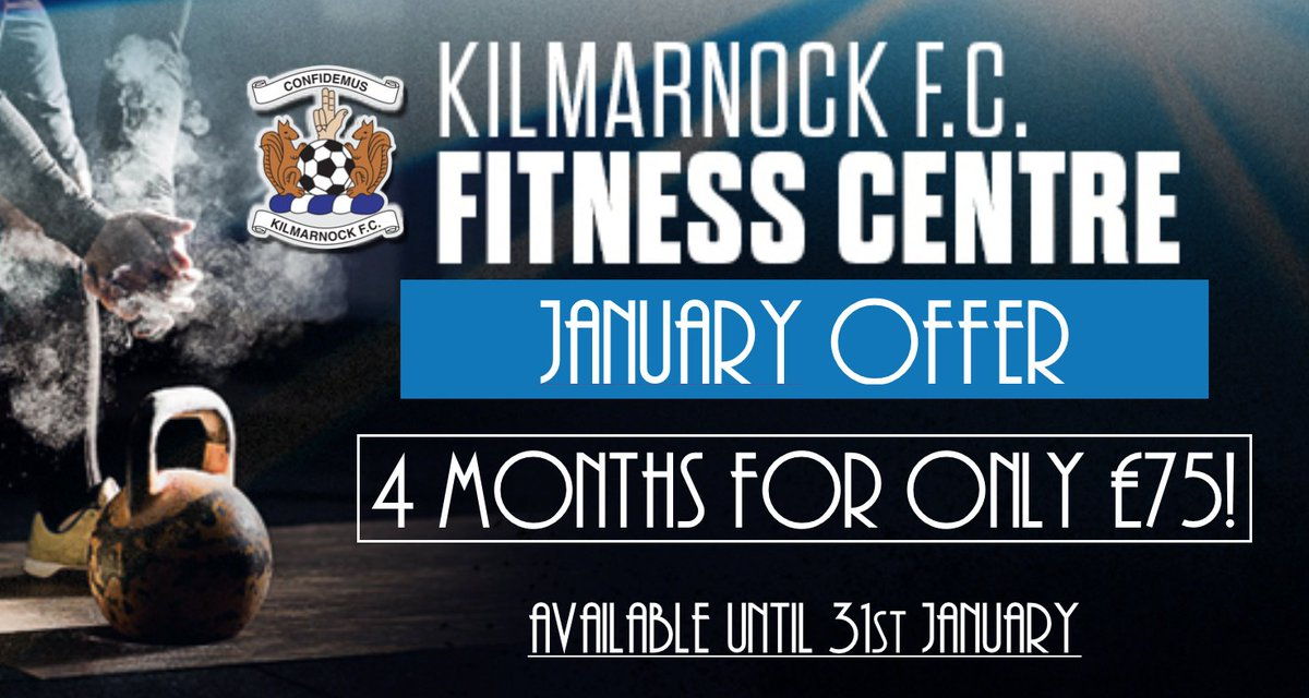 🏋️♂️🏋️♀️ You have until 9pm this evening to take advantage of @KillieFitness' January offer! 👇